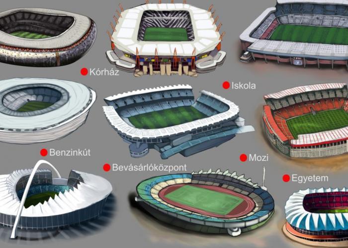 A stadionok mellett mindig lesz hely, egyetemnek, kórháznak és más felesleges dolgoknak is.